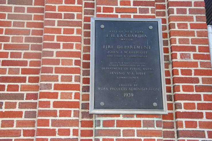Bronx New Deal - Photo #559 - City Island Firehouse